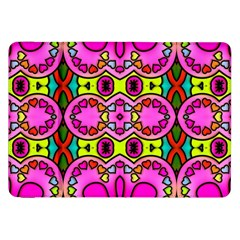 Love Hearths Colourful Abstract Background Design Samsung Galaxy Tab 8 9  P7300 Flip Case by Simbadda