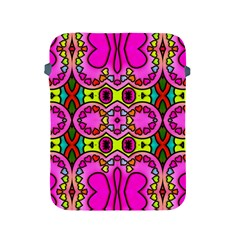 Love Hearths Colourful Abstract Background Design Apple Ipad 2/3/4 Protective Soft Cases by Simbadda