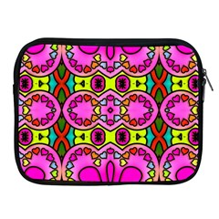 Love Hearths Colourful Abstract Background Design Apple Ipad 2/3/4 Zipper Cases by Simbadda
