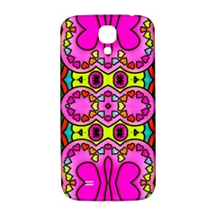 Love Hearths Colourful Abstract Background Design Samsung Galaxy S4 I9500/i9505  Hardshell Back Case by Simbadda
