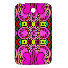 Love Hearths Colourful Abstract Background Design Samsung Galaxy Tab 3 (7 ) P3200 Hardshell Case  by Simbadda