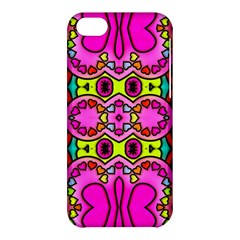 Love Hearths Colourful Abstract Background Design Apple Iphone 5c Hardshell Case by Simbadda