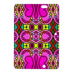Love Hearths Colourful Abstract Background Design Kindle Fire Hdx 8 9  Hardshell Case by Simbadda