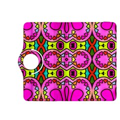 Love Hearths Colourful Abstract Background Design Kindle Fire Hdx 8 9  Flip 360 Case by Simbadda