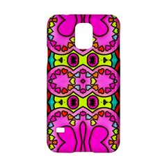 Love Hearths Colourful Abstract Background Design Samsung Galaxy S5 Hardshell Case  by Simbadda