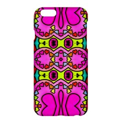Love Hearths Colourful Abstract Background Design Apple Iphone 6 Plus/6s Plus Hardshell Case by Simbadda