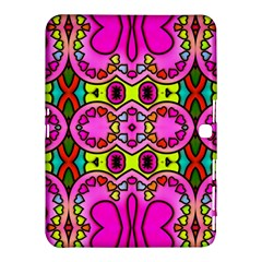 Love Hearths Colourful Abstract Background Design Samsung Galaxy Tab 4 (10 1 ) Hardshell Case  by Simbadda