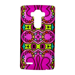 Love Hearths Colourful Abstract Background Design Lg G4 Hardshell Case by Simbadda