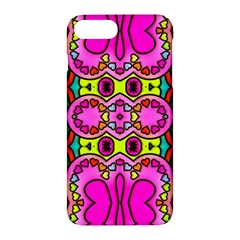 Love Hearths Colourful Abstract Background Design Apple Iphone 7 Plus Hardshell Case by Simbadda