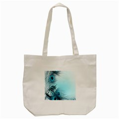 Feathery Background Tote Bag (cream) by Simbadda