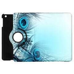 Feathery Background Apple Ipad Mini Flip 360 Case by Simbadda