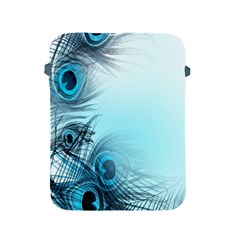 Feathery Background Apple Ipad 2/3/4 Protective Soft Cases by Simbadda