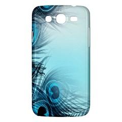 Feathery Background Samsung Galaxy Mega 5 8 I9152 Hardshell Case  by Simbadda