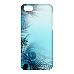 Feathery Background Apple Iphone 5c Hardshell Case by Simbadda