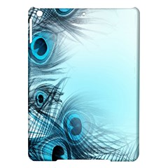Feathery Background Ipad Air Hardshell Cases by Simbadda