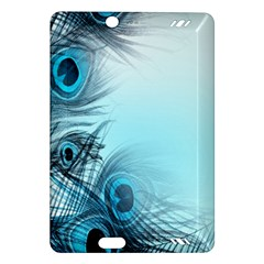Feathery Background Amazon Kindle Fire Hd (2013) Hardshell Case by Simbadda