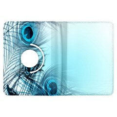 Feathery Background Kindle Fire Hdx Flip 360 Case by Simbadda