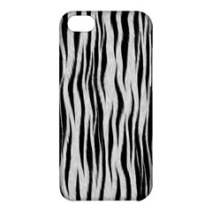 Black White Seamless Fur Pattern Apple Iphone 5c Hardshell Case by Simbadda