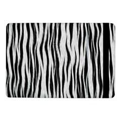 Black White Seamless Fur Pattern Samsung Galaxy Tab Pro 10 1  Flip Case by Simbadda