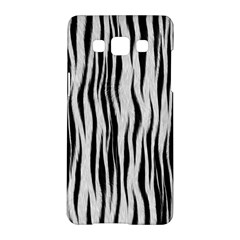 Black White Seamless Fur Pattern Samsung Galaxy A5 Hardshell Case