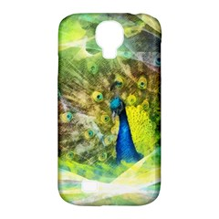 Peacock Digital Painting Samsung Galaxy S4 Classic Hardshell Case (pc+silicone) by Simbadda