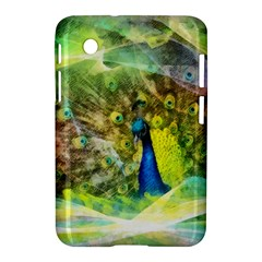 Peacock Digital Painting Samsung Galaxy Tab 2 (7 ) P3100 Hardshell Case