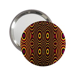 Vibrant Pattern 2 25  Handbag Mirrors by Simbadda