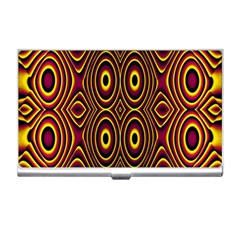Vibrant Pattern Business Card Holders by Simbadda