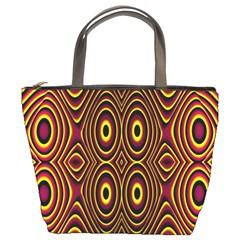 Vibrant Pattern Bucket Bags by Simbadda