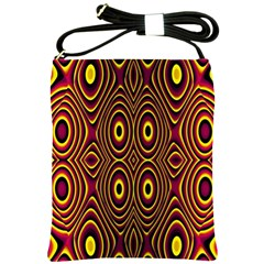 Vibrant Pattern Shoulder Sling Bags by Simbadda