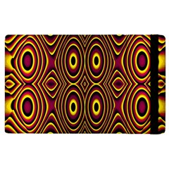 Vibrant Pattern Apple Ipad 2 Flip Case by Simbadda
