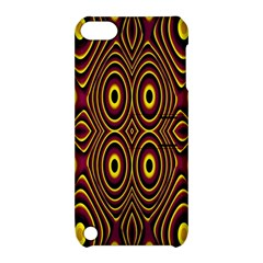 Vibrant Pattern Apple Ipod Touch 5 Hardshell Case With Stand by Simbadda