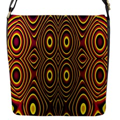Vibrant Pattern Flap Messenger Bag (s) by Simbadda