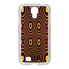 Vibrant Pattern Samsung Galaxy S4 I9500/ I9505 Case (white) by Simbadda