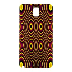 Vibrant Pattern Samsung Galaxy Note 3 N9005 Hardshell Back Case by Simbadda