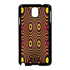 Vibrant Pattern Samsung Galaxy Note 3 Neo Hardshell Case (black) by Simbadda