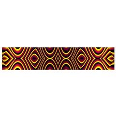 Vibrant Pattern Flano Scarf (small) by Simbadda