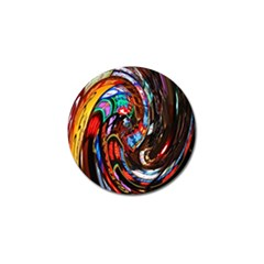 Abstract Chinese Inspired Background Golf Ball Marker (10 Pack) by Simbadda