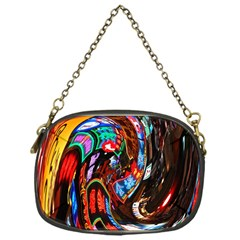 Abstract Chinese Inspired Background Chain Purses (one Side)  by Simbadda
