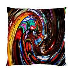 Abstract Chinese Inspired Background Standard Cushion Case (two Sides) by Simbadda