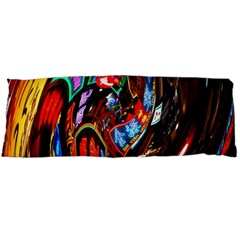 Abstract Chinese Inspired Background Body Pillow Case Dakimakura (two Sides) by Simbadda