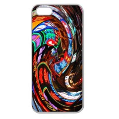 Abstract Chinese Inspired Background Apple Seamless Iphone 5 Case (clear) by Simbadda