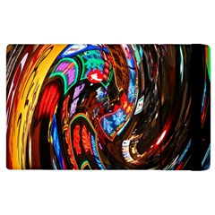 Abstract Chinese Inspired Background Apple Ipad 2 Flip Case by Simbadda