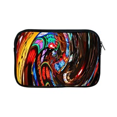 Abstract Chinese Inspired Background Apple Ipad Mini Zipper Cases by Simbadda
