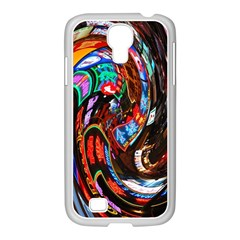 Abstract Chinese Inspired Background Samsung Galaxy S4 I9500/ I9505 Case (white) by Simbadda