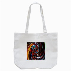 Abstract Chinese Inspired Background Tote Bag (white) by Simbadda