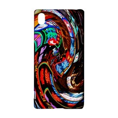 Abstract Chinese Inspired Background Sony Xperia Z3+ by Simbadda