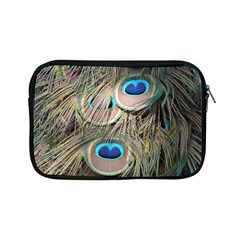 Colorful Peacock Feathers Background Apple Ipad Mini Zipper Cases by Simbadda