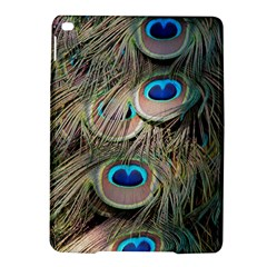 Colorful Peacock Feathers Background Ipad Air 2 Hardshell Cases by Simbadda