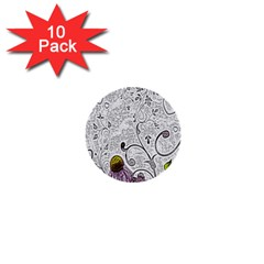 Abstract Pattern 1  Mini Buttons (10 Pack)  by Simbadda